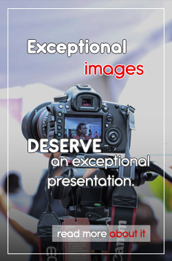 Exceptional images, exceptional presentation